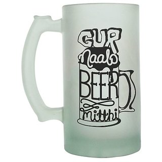 Gur Naalo Beer Mitthi Frosted beer Mug
