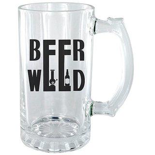 Beer Weed Clear beer Mug