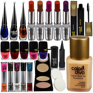 Adbeni Festive Speciality Exciting Deal Combo Makeup-Sets of 28 Pc-GC381