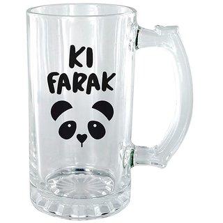 Ki farak Panda Clear beer Mug
