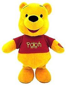 Musical Walking Soft Plush Poooh Stuff Toy