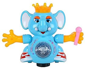 DANCING ELEPHANT WITH LED LIGHTS & MUSIC FOR KIDS