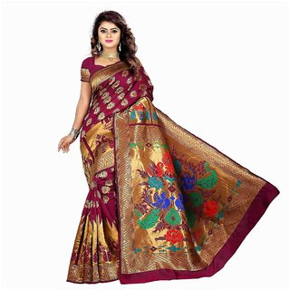 Buy Saarah Yellow Kanchipuram Silk Saree Online - Get 72% Off