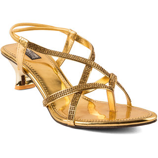 TE Fashion Golden PartyWEAR Heel's