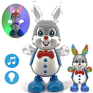 Flashing Rabbit with Sounds Glowing Hands With Sweet Melodies Multi Color