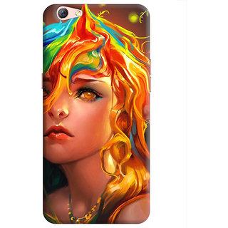 FurnishFantasy Back Cover for Oppo F3 Plus - Design ID - 0090