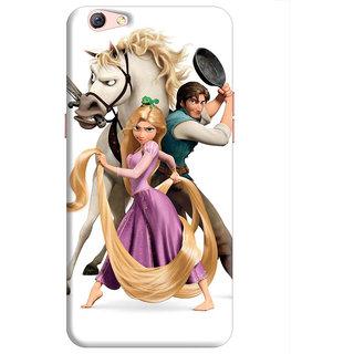 FurnishFantasy Back Cover for Oppo F3 Plus - Design ID - 0049