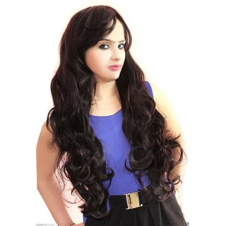 NERR Real Human Hair Curly Wigs / Wig