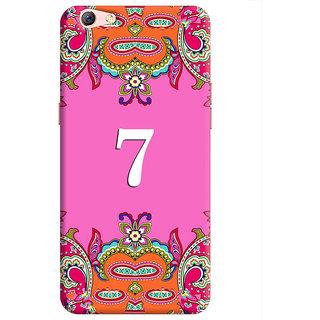 FurnishFantasy Back Cover for Oppo F3 Plus - Design ID - 1365