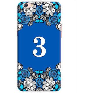 FurnishFantasy Back Cover for Oppo F3 Plus - Design ID - 1392