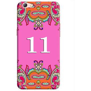 FurnishFantasy Back Cover for Oppo F3 Plus - Design ID - 1369