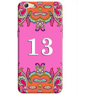 FurnishFantasy Back Cover for Oppo F3 Plus - Design ID - 1371