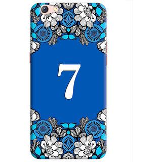 FurnishFantasy Back Cover for Oppo F3 Plus - Design ID - 1396