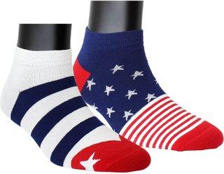 Neska Moda Men 2 Pairs Cotton Low Cut Ankle Length Socks S877