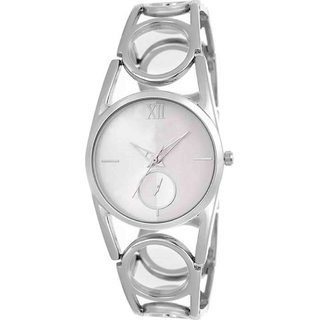 KDS Best Collection Silver Chain Girl and Women Watch