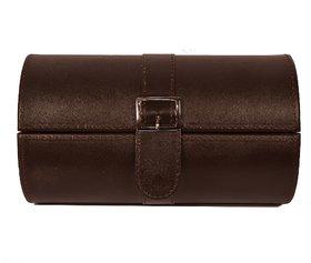 Zint Watch Case Genuine Leather Travel Jewelry Box Bracelet Organizer