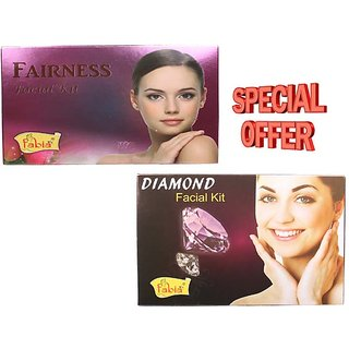 Fabia Combo of Fairness and Diamond Facial Kit