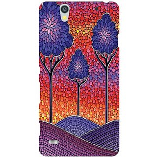 Printland Back Cover For Sony Xperia C4
