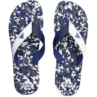 6c9ce520f6da4 Buy Adidas Men Shingle Blue White Flip-Flops Online - Get 0% Off