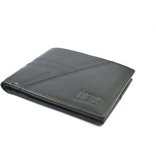 iMex Mens Black Genuine Leather Wallet
