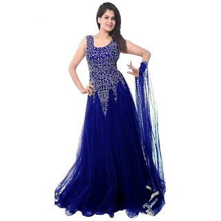 Buy Reeva Trendz Women s Soft Net Semi-stitched Gown Online - Get 50% Off 5dd20d7f5