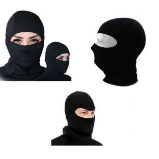 Benjoy Stretchable Balaclava Face Mask - Black Colour