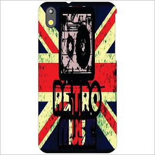 Printland Back Cover For HTC Desire 816
