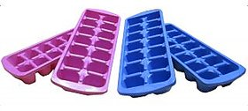 Ice Trays Set of 4 - Multicolor