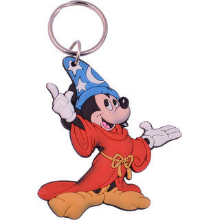 DhanSai Expressions Mickey Mouse Double Sided Rubber Keychain