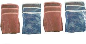12 Pcs Multipurpose Fridge Storage Zipper Bags for Fruits and Vegetables