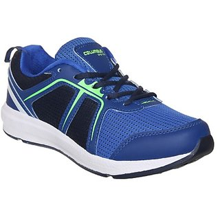 Columbus Mens Blue Navy Running Shoe