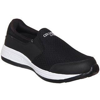 Columbus Mens Black Running Shoe