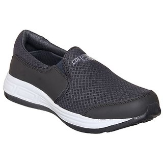 Columbus Mens Gray Running Shoe