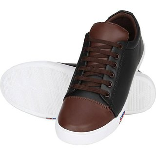 STYLE HEIGHT Long Sneakers For Men (Black)