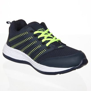 Columbus Mens Navy Running Shoe