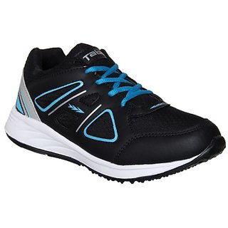 Columbus Men's Black,Aqua Running Shoe