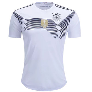 Germany National Football Team White Color Half Sleeve Dry Fit Jersey 2018