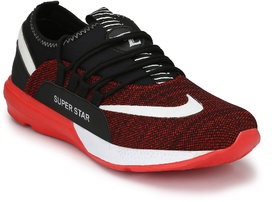 Lavista Red Lace-up EVA Sneakers/Casual Shoes For Men