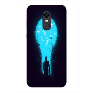 Printgasm Xiaomi Redmi Note 5 printed back hard cover/case,  Matte finish, premium 3D printed, designer case