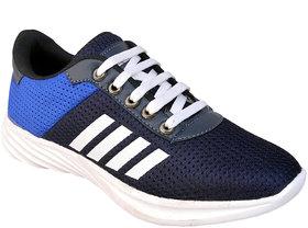 Biggfoot Men's Blue Lace-up Casual Shoes