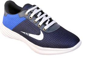 Biggfoot Men's Blue Lace-up Casual Shoes - 135748400