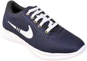 Biggfoot Men's Blue Lace-up Casual Shoes - 135748476