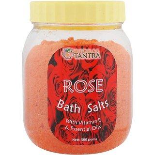 Herbal Tantra Rose Bath Salt (500 g)