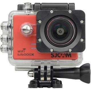 4K 24 fps Sony IMX078 Waterproof WiFi Action Helmet Camera RED