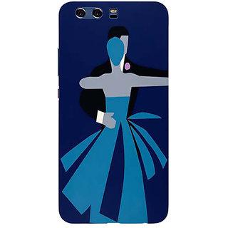 Printgasm Huawei Honor P10 printed back hard cover/case,  Matte finish, premium 3D printed, designer case