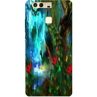 Printgasm Huawei P9 printed back hard cover/case,  Matte finish, premium 3D printed, designer case
