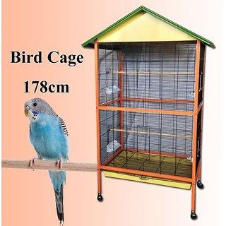 Bird Cage (Aviary for LoveBirds Budgerigar Finches Cockatiel  Doves)
