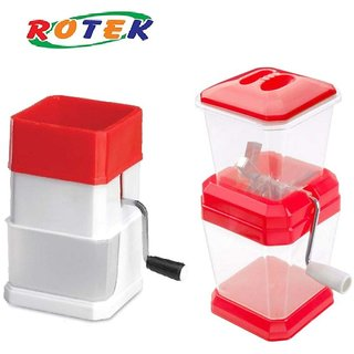 Rotek Kitchen Combo of Deluxe Chilly Cutter and Onion Cutter