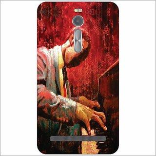 Printland Back Cover For Asus ZenFone 2 ZE551ML