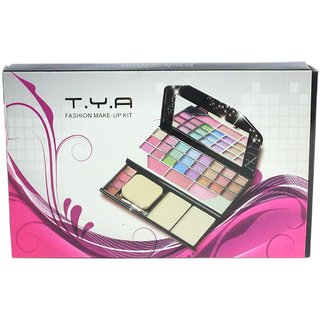 Estmail Color Series 24-Eyeshadow, 3-Blusher, 2- Powder Cake , 2 Brushes 4 lip colors With Free Shipping